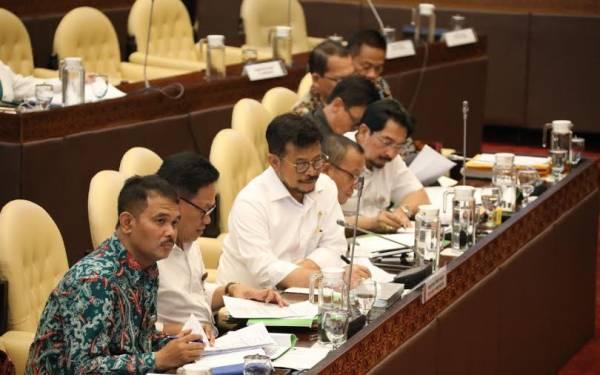 Hadir Raker Perdana di DPR, Mentan Syahrul Tegaskan Pertanian Harus Lebih Maju - JPNN.com