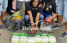 Bawa Sabu-sabu dalam Ransel, Si Gondrong Diciduk Polisi - JPNN.com