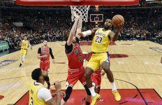 LeBron James Lagi Panas, Lakers Pimpin Klasemen NBA - JPNN.com