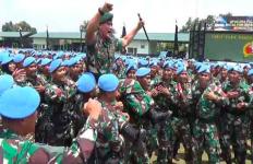 Bravo! Pasukan Garuda TNI Kembali Banggakan Indonesia di Hadapan Warga Dunia - JPNN.com