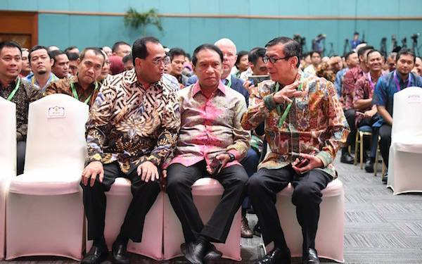 Menpora Hadiri Rakornas Pengadaan Barang dan Jasa Pemerintah 2019 - JPNN.com