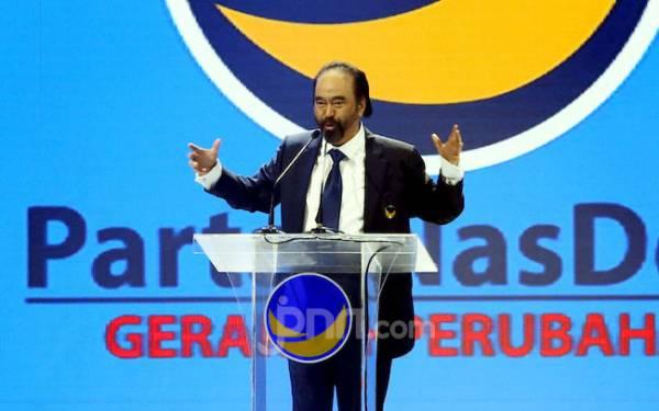 Buka Kongres NasDem, Surya Paloh Sindir Partai Sok Pancasilais Ogah Bersalaman - JPNN.com