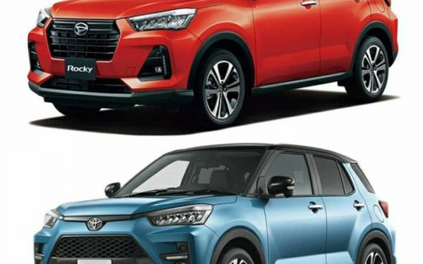Toyota Raize dan Daihatsu Rocky, Kembar Tidak Identik - JPNN.com