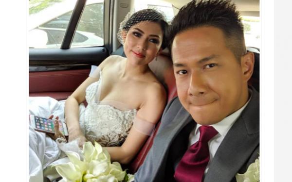 Delon Thamrin dan Aida Chandra Resmi Jadi Suami Istri - JPNN.com