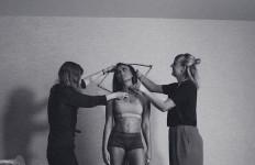 Tubuh Seksi Agnez Mo Mulai Diukur oleh Tim Madame Tussauds - JPNN.com