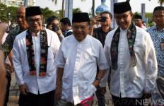 Pak JK Dikawal Paspampres, Disambut Hangat Anies Baswedan - JPNN.com
