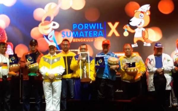 Sukses Jadi Tuan Rumah Porwil, Gubernur Bengkulu: Terima Kasih, LPDUK Kemenpora - JPNN.com