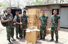 Puluhan Dus Tembakau Ilegal Gagal Diselundupkan ke Timor Leste - JPNN.com