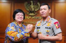 Menteri Siti Bertemu Kapolri Baru, Siap Sikat Para Perusak Alam - JPNN.com