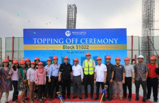 Meikarta Sudah Topping Off 10 Tower per November 2019 - JPNN.com