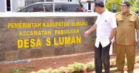 Wakil Menteri Kunjungi Desa Siluman, Jaraknya Cuma 90 KM dari Jakarta