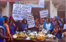 Pedagang Pasar di Solo Gelar Syukuran Sambut Kelahiran Cucu Presiden Jokowi - JPNN.com