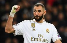 Insiden saat Latihan Real Madrid, Karim Benzema jadi Tertawaan - JPNN.com