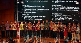 Inilah 18 Pemenang Anugerah Pesona Indonesia 2019, Jambi jadi Juara Umum