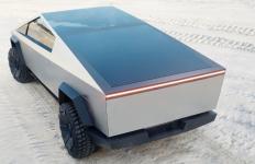 Tesla Kenalkan Konsep Truk Pikap Listrik dengan Panel Surya - JPNN.com