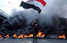 Konsulat Iran Dibakar, Polisi Irak Tembak Mati 45 Demonstran - JPNN.com