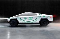 Tesla Cybertruck Temani Veyron dan Aventador Jadi Mobil Patroli Polisi Dubai - JPNN.com