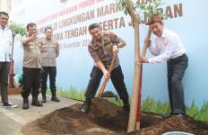 12 Ribu Pohon HIjaukan Markas Polda Jateng - JPNN.com