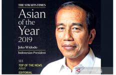 Membanggakan, Jokowi Dinobatkan sebagai Tokoh Asia 2019 - JPNN.com