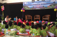 Mahasiswa Fikom UMB Dorong Gerakan Literasi Sejak Usia Dini - JPNN.com