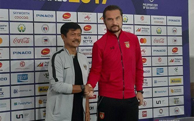 SEA Games 2019: Pelatih Myanmar Sebut Timnas Indonesia Seperti Ini