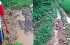 Kampung Babakan Gobang Sukabumi Banjir Lumpur Gegara Tol Bocimi - JPNN.com