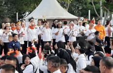Peringati Hari Ibu, Iriana Jokowi dan Wury Estu Ma'ruf Amin Lakukan Hal Ini - JPNN.com