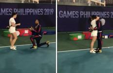 Melamar Kekasih Setelah Meraih Medali SEA Games 2019 - JPNN.com