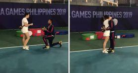 Melamar Kekasih Setelah Meraih Medali SEA Games 2019