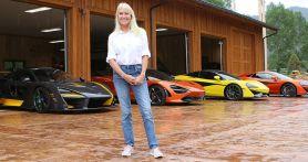 Wanita Cantik Ini Hobi Mengoleksi Supercar, Satu di Antaranya Berbanderol Rp 14 Miliar