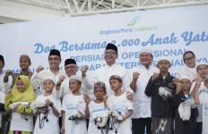 AP I Gelar Doa Bersama Ribuan Anak Yatim di Terminal Baru Bandara Syamsudin Noor - JPNN.com