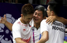 Kata Naga Api soal Nomor Ganda Putra BWF World Tour Finals 2019 - JPNN.com