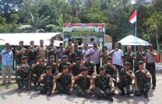 Inspektorat Kodam Kunjungi Satgas Pamrahwan Yonif Raider Khusus 136 di Maluku - JPNN.com
