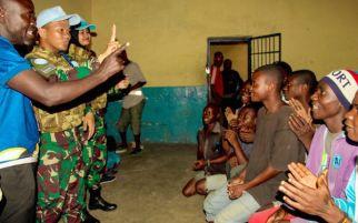 Satgas TNI Konga XXXIX-B Gelar Kegiatan Cimic di Kongo