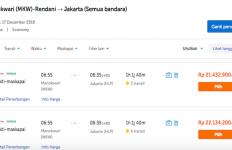 Harga Tiket Pesawat Manokwari – Jakarta Mencapai Rp22 Juta, Begini Respons Senator Filep Wamafma - JPNN.com