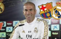 El Clasico Barcelona vs Real Madrid: Rekor Fantastis Menunggu Zidane - JPNN.com