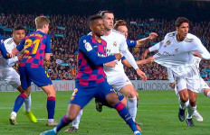 Real Madrid Kesal Tak Dapat 2 Penalti di El Clasico - JPNN.com