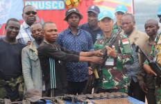 Prajurit Satgas TNI di Afrika Sukses Menyadarkan 7 Orang Ex-Combatant - JPNN.com