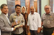 Mentan Syahrul Ajak BRI Kolaborasi Majukan Pertanian - JPNN.com