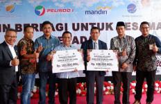 Sambut Natal, Pelindo I, Bank Mandiri dan AirNav Indonesia Berbagi Kasih di Kepulauan Riau - JPNN.com