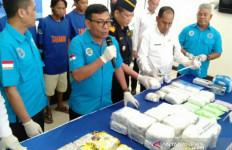 Bawa 36 Kg Sabu-sabu dan 32.570 Pil Ekstasi, Dua Pria Asal Riau Ditangkap di Palembang - JPNN.com