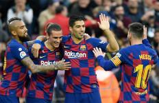 Barcelona Menang Besar, Messi 50 Gol - JPNN.com