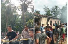 Kebakaran Hebat Hanguskan Enam Unit Rumah Warga di Bahorok Langkat - JPNN.com