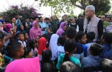 Santri dan Suster Berbaur Hangat, Menyambut Ganjar Pranowo - JPNN.com