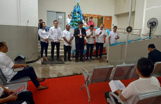 Lihat Suasana Natal di Rutan KPK - JPNN.com