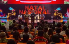 Natal Nasional 2019, Jokowi Cerita Tentang Gus Dur dan Romo Mangun - JPNN.com