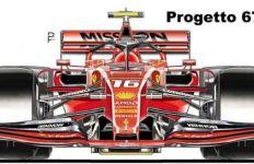 Bocor Tampang Mobil Terbaru Ferrari untuk F1 2020 - JPNN.com