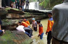 Supian Akbar Ditemukan Tewas Tenggelam di Air Terjun Jantur Doyan - JPNN.com