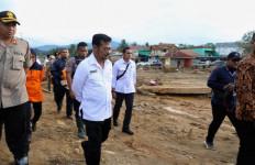 Mentan Syahrul Tinjau Lahan Pertanian Terdampak Banjir di Lebak - JPNN.com