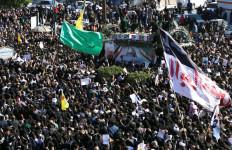 Puluhan Pelayat Tewas Mengenaskan Saat Pemakaman Jenderal Iran - JPNN.com